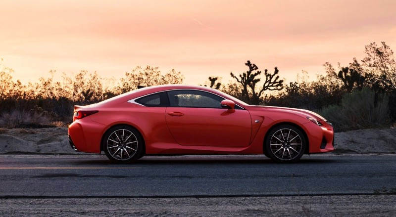 467HP 2015 Lexus RC F Visits Monticello in Three New Colors + Tech Features 5