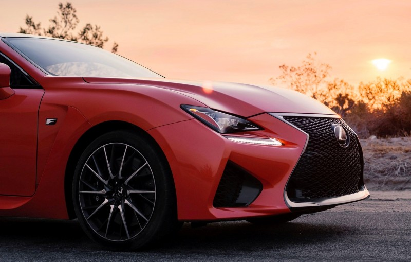 467HP 2015 Lexus RC F Visits Monticello in Three New Colors + Tech Features 6