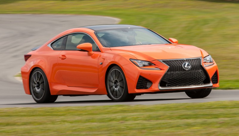467HP 2015 Lexus RC F Visits Monticello in Three New Colors + Tech Features 8