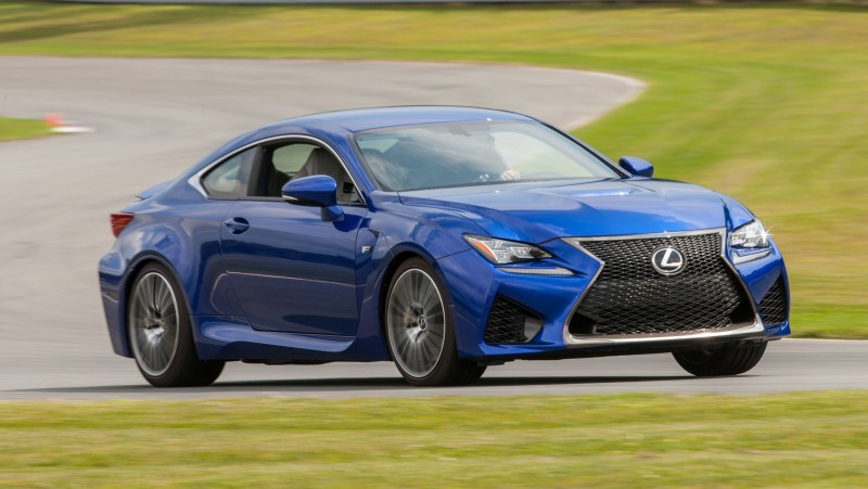 467HP 2015 Lexus RC F Visits Monticello in Three New Colors + Tech Features 9