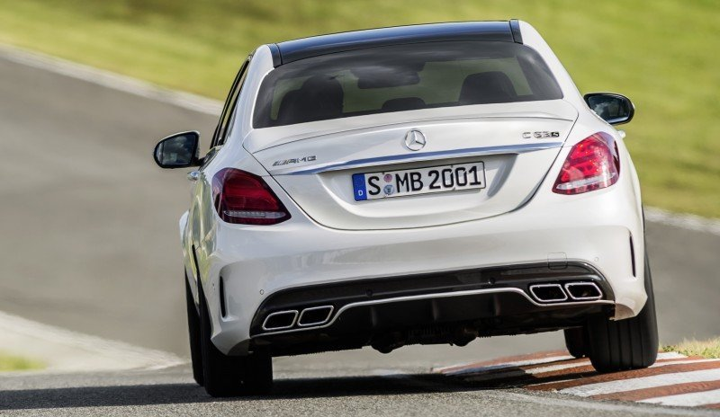 510HP, 3.9s 2015 Mercedes-AMG C63 S Joings New C63 - Without the Benz Name 10