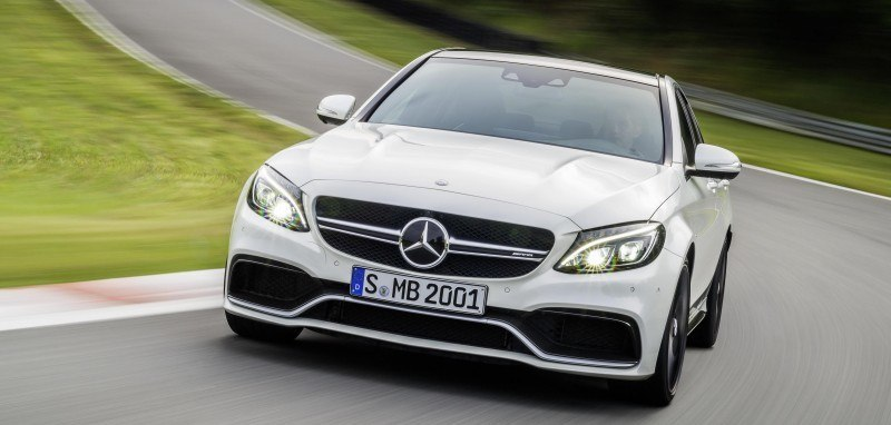 510HP, 3.9s 2015 Mercedes-AMG C63 S Joings New C63 - Without the Benz Name 12