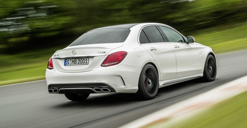 510HP, 3.9s 2015 Mercedes-AMG C63 S Joings New C63 - Without the Benz Name 14