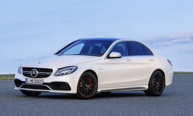 510HP, 3.9s 2015 Mercedes-AMG C63 S Joings New C63 - Without the Benz Name 2