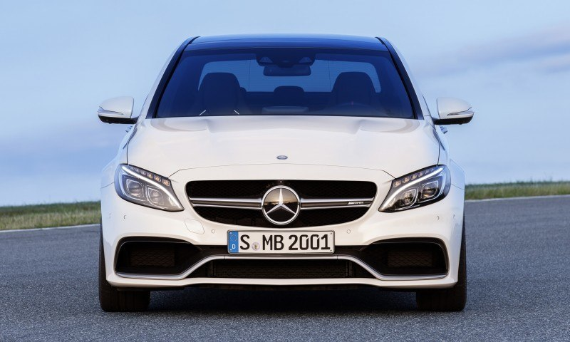 510HP, 3.9s 2015 Mercedes-AMG C63 S Joins New C63 – Without the Benz