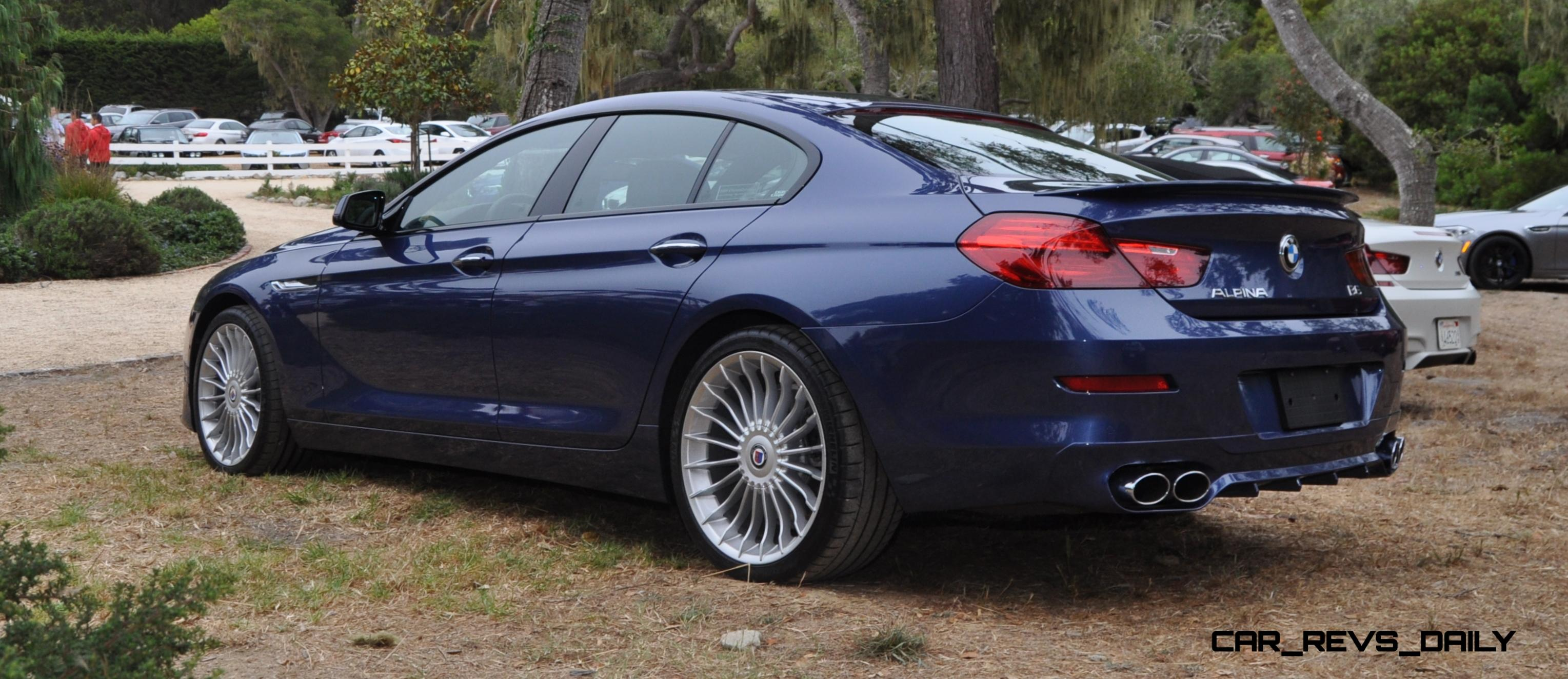 540HP 37s 2015 BMW ALPINA B6 XDrive Gran Coupe Is Now Available For USA Special Orders 23