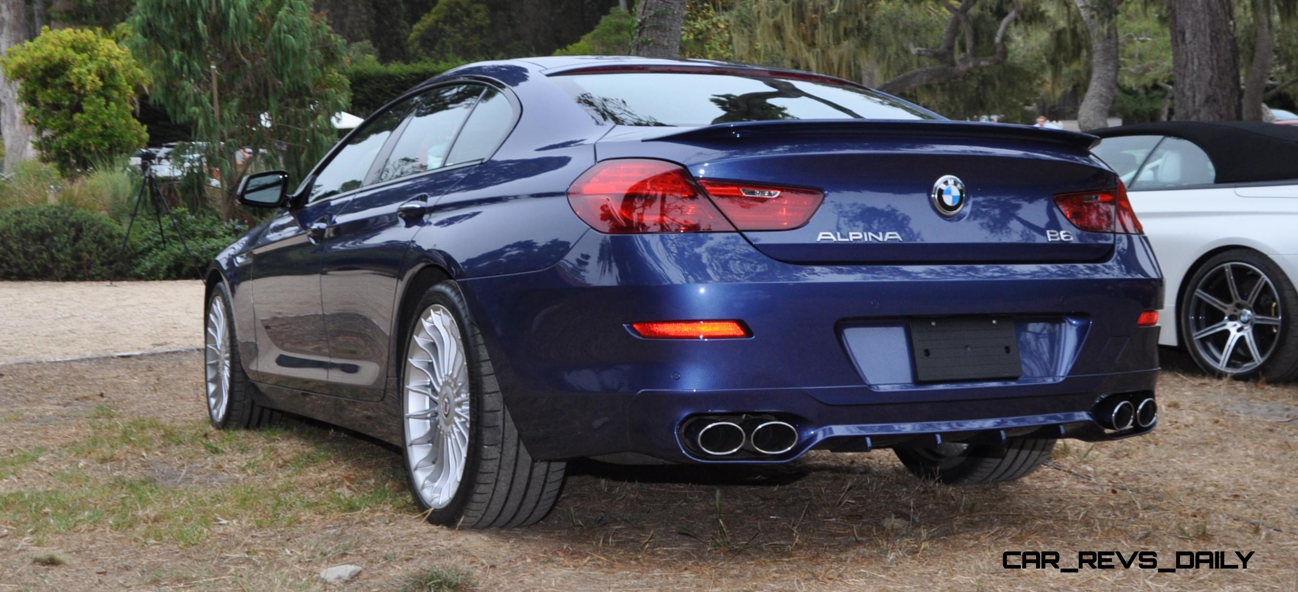 540hp, 3.7s 2015 bmw alpina b6 xdrive gran coupe is now available