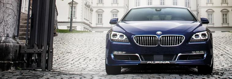 540HP, 3.7s 2015 BMW ALPINA B6 xDrive Gran Coupe Is Now Available For USA Special Orders 40