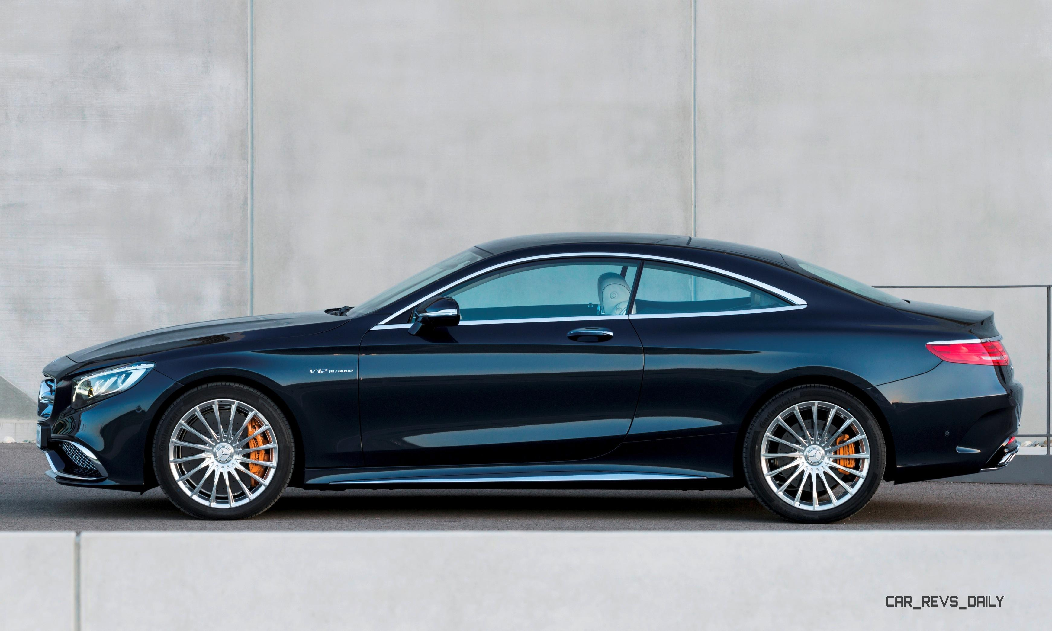 630hp V12 2015 Mercedes Benz S65 Amg Coupe Has Arrived