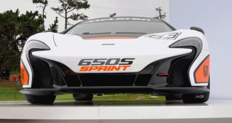 650S Sprint pb debut gif