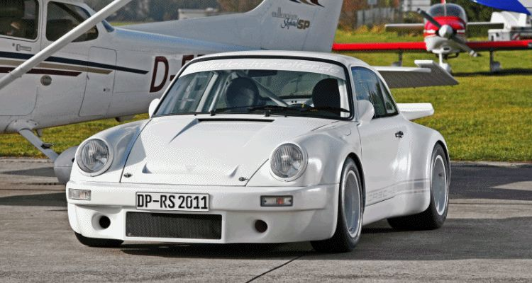 911 1973 carbon white lightweight GIF