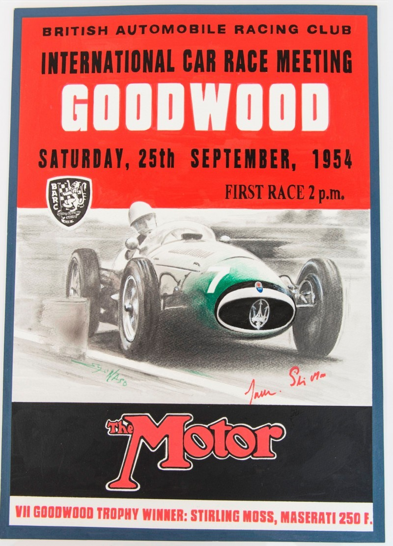 A Century of Victories - Goodwood lithograph