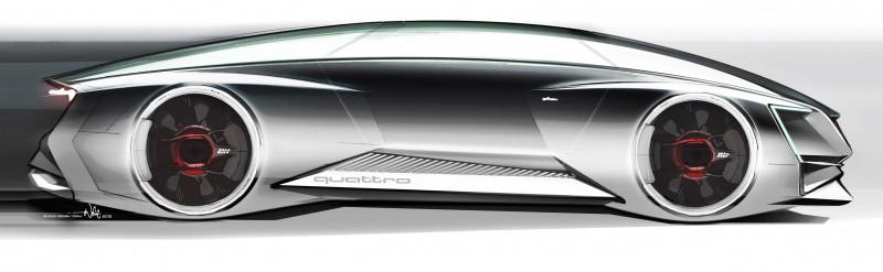 Virtuelle Vision: Audi fleet shuttle quattro fuer den Film ?Ender?s Game?
