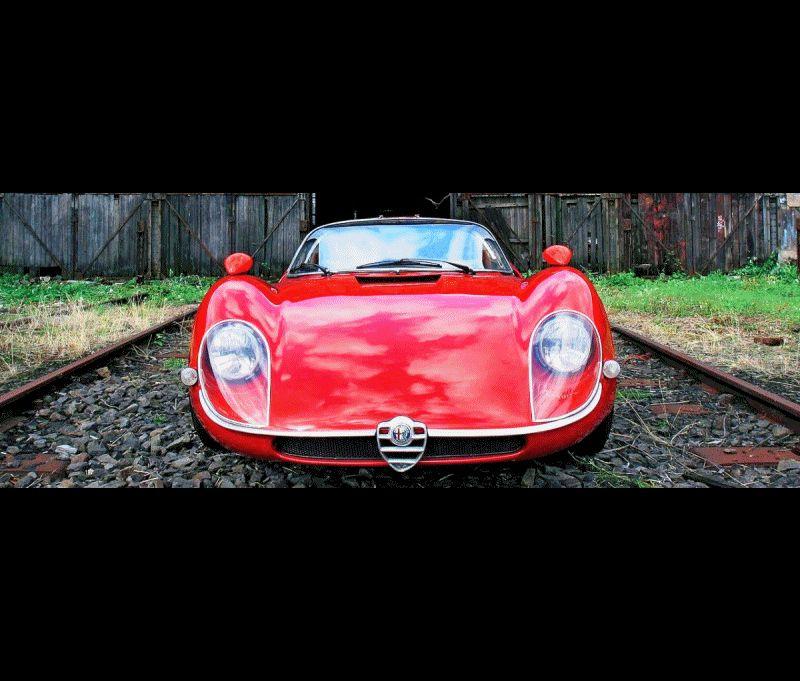Alfa Tipo 33 GIF