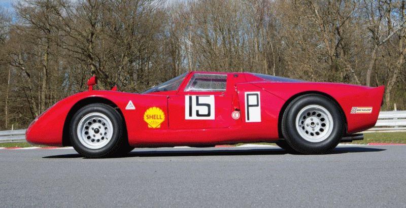 Alfa Tipo 332 daytona GIF full