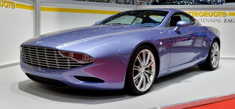 Aston Martin DBS Coupé Zagato Centennial 011112