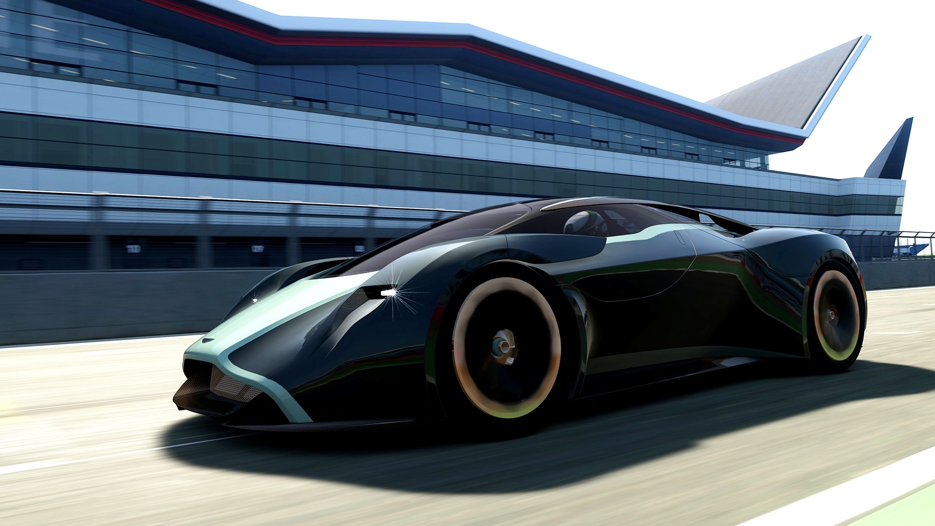 aston martin dp 100 vision gran turismo is mid engine hyper exotic. Black Bedroom Furniture Sets. Home Design Ideas
