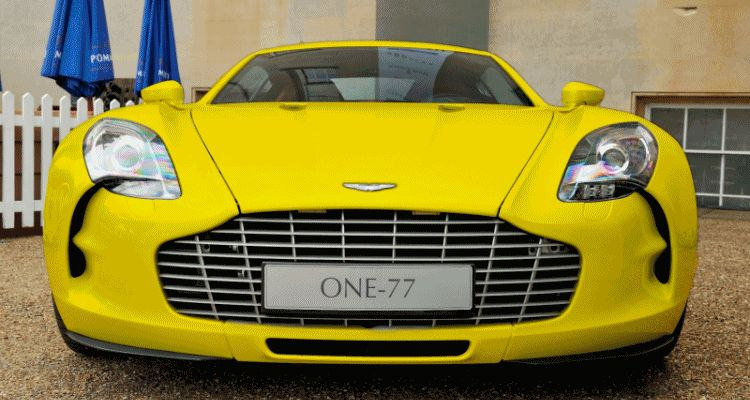 Aston Martin One-77 colors GIF