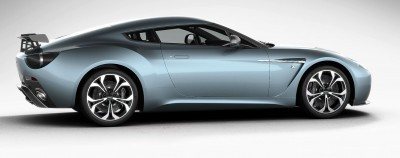 Aston Martin V12 ZAGATO Alba Blue 50