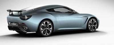 Aston Martin V12 ZAGATO Alba Blue 56