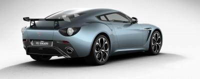 Aston Martin V12 ZAGATO Alba Blue 60