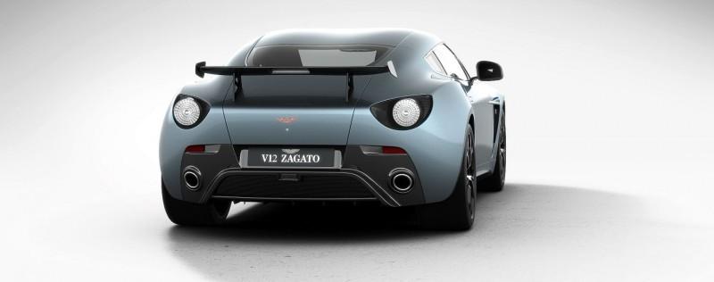 Aston Martin V12 ZAGATO Alba Blue 66