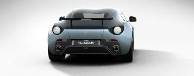 Aston Martin V12 ZAGATO Alba Blue 67