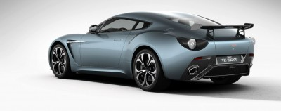 Aston Martin V12 ZAGATO Alba Blue 78