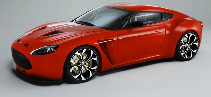 Aston Martin V12 ZAGATO Diavolo Red 108