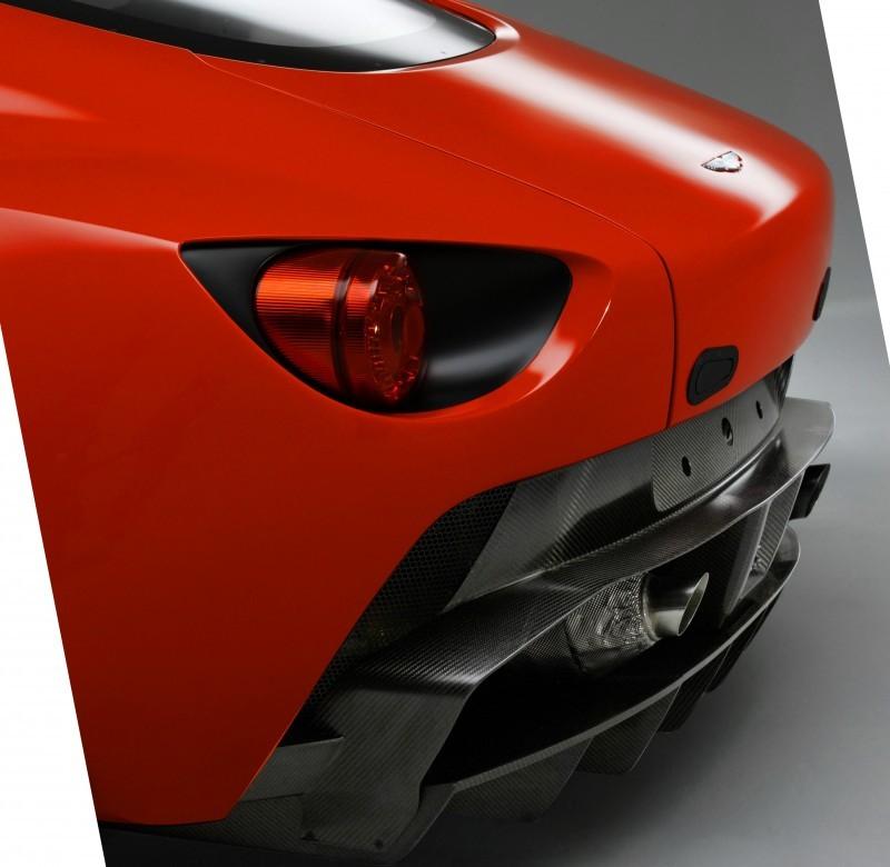 Aston Martin V12 ZAGATO Diavolo Red 109