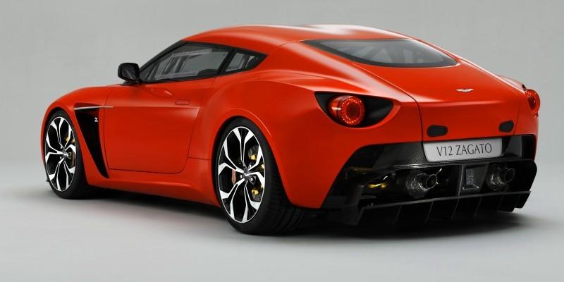 Aston Martin V12 ZAGATO Diavolo Red 111