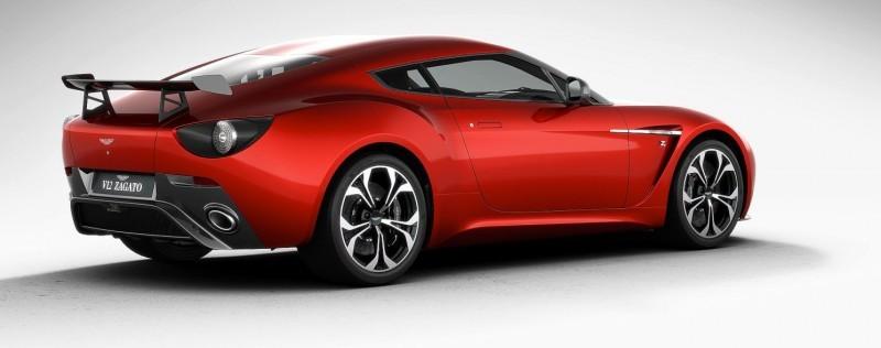 Aston Martin V12 ZAGATO Diavolo Red 60