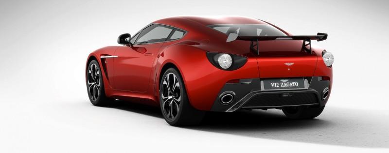 Aston Martin V12 ZAGATO Diavolo Red 78