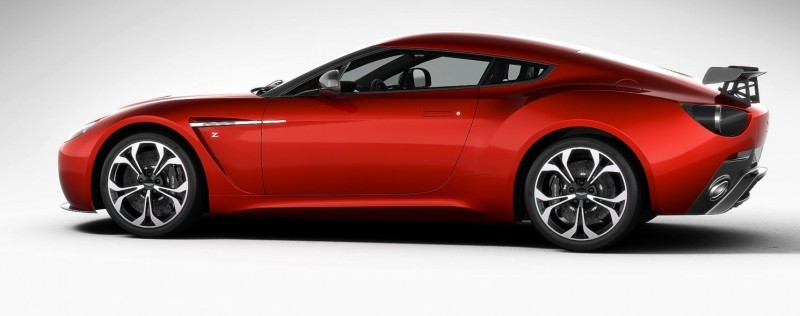 Aston Martin V12 ZAGATO Diavolo Red 90