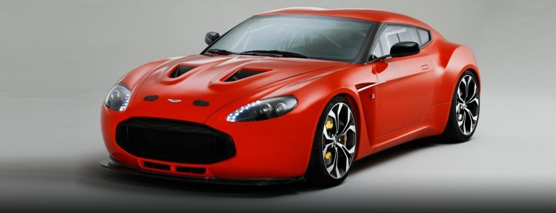 Aston Martin V12 ZAGATO Diavolo Red 96
