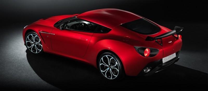 Aston Martin V12 ZAGATO Diavolo Red 99
