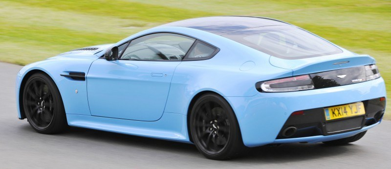 Aston Martin Zings Up Goodwood Hill (to its AMG Future) in Vantage S, Rapide S and Vanquish 12