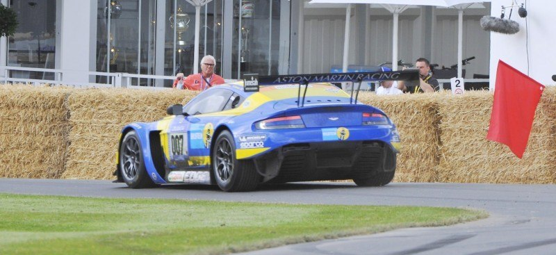 Aston Martin Zings Up Goodwood Hill (to its AMG Future) in Vantage S, Rapide S and Vanquish 20