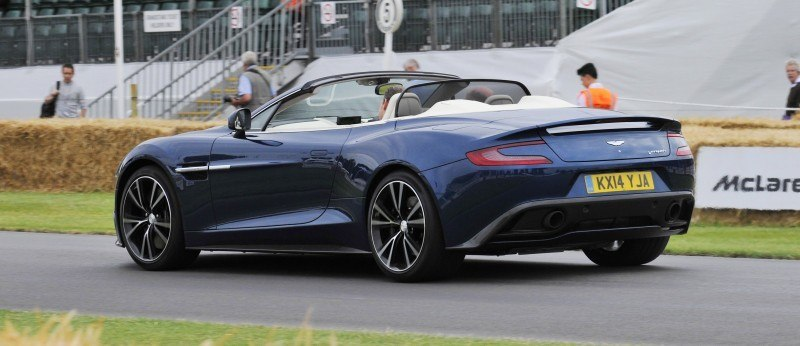 Aston Martin Zings Up Goodwood Hill (to its AMG Future) in Vantage S, Rapide S and Vanquish 6