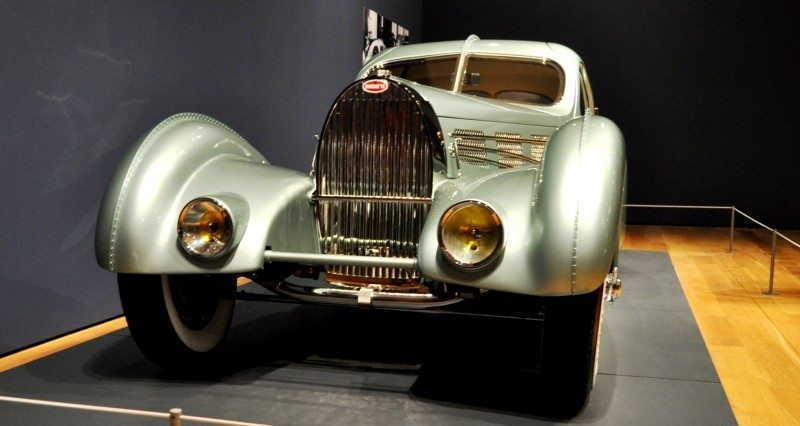 Atlanta Dream Cars - 1935 Bugatti 57S Competition Coupe Aerolithe Wears Gorgeous Elektron Magnesium Panels11