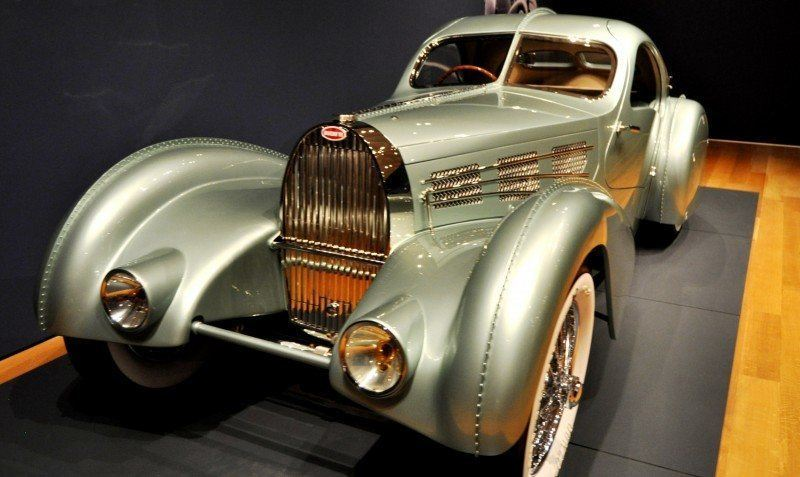 Atlanta Dream Cars - 1935 Bugatti 57S Competition Coupe Aerolithe Wears Gorgeous Elektron Magnesium Panels13
