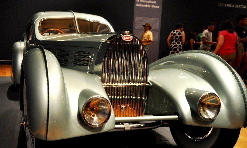 Atlanta Dream Cars - 1935 Bugatti 57S Competition Coupe Aerolithe Wears Gorgeous Elektron Magnesium Panels14