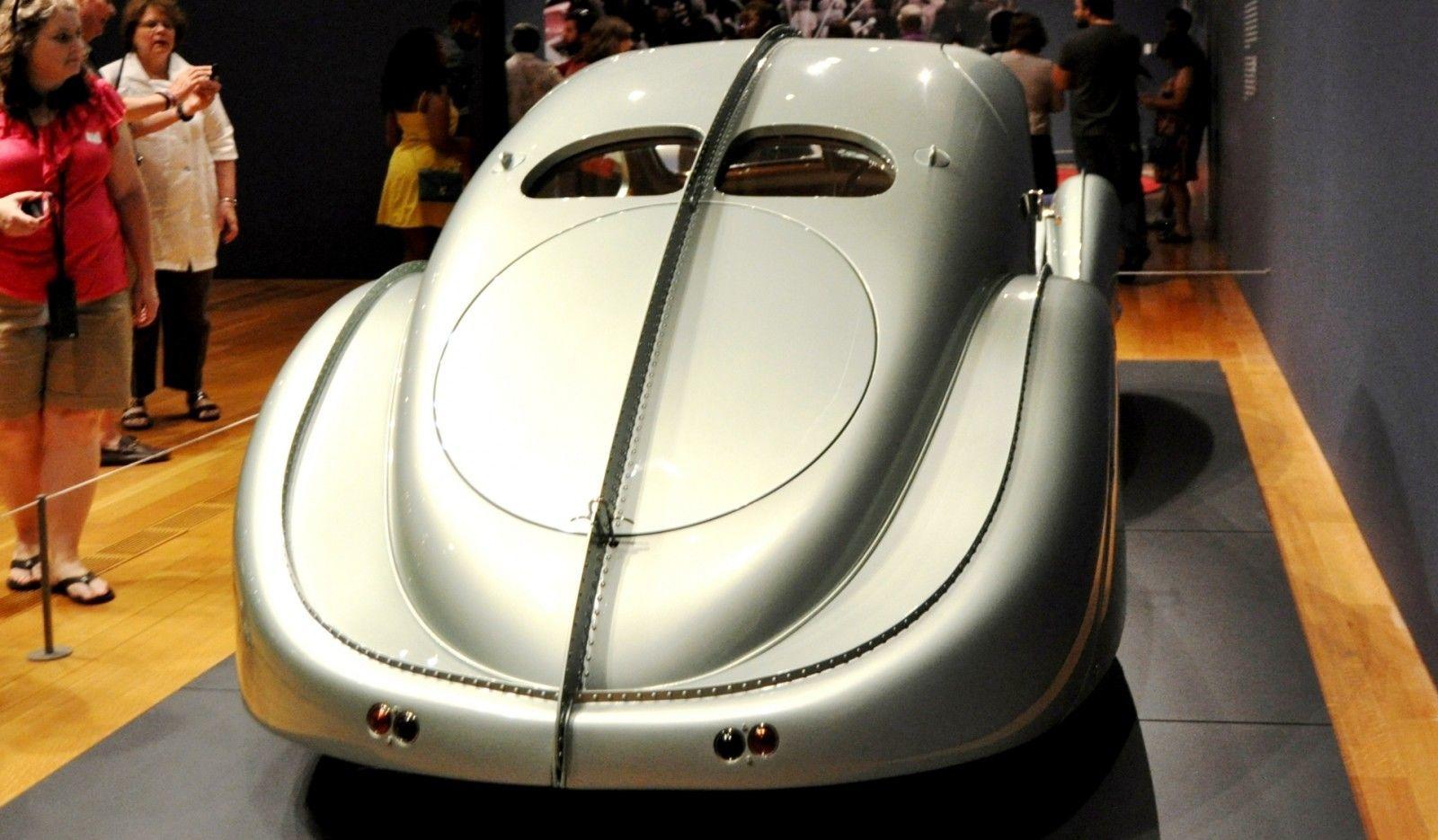 Atlanta Dream Cars - 1935 Bugatti 57S Competition Coupe Aerolithe Wears Gorgeous Elektron Magnesium Panels5