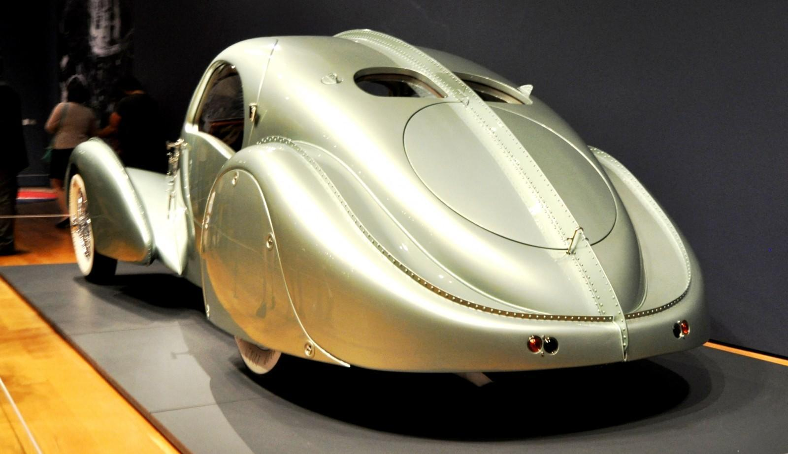 Atlanta Dream Cars - 1935 Bugatti 57S Competition Coupe Aerolithe Wears Gorgeous Elektron Magnesium Panels7