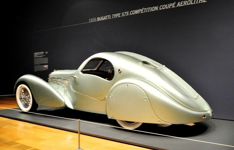Atlanta Dream Cars - 1935 Bugatti 57S Competition Coupe Aerolithe Wears Gorgeous Elektron Magnesium Panels8