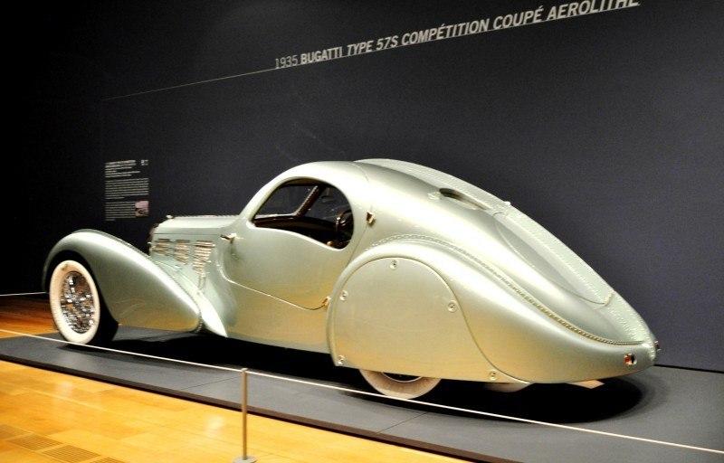 Atlanta Dream Cars - 1935 Bugatti 57S Competition Coupe Aerolithe Wears Gorgeous Elektron Magnesium Panels8