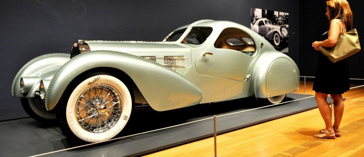 Atlanta Dream Cars - 1935 Bugatti 57S Competition Coupe Aerolithe Wears Gorgeous Elektron Magnesium Panels9
