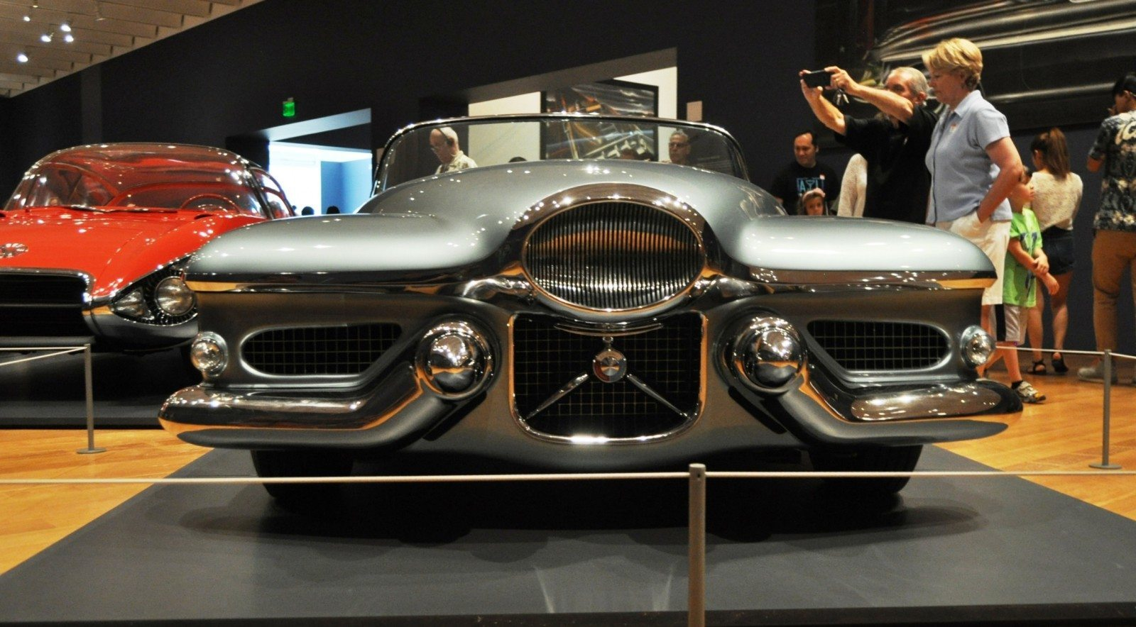 Atlanta Dream Cars - 1951 General Motors LeSabre XP-8 Struck Gold With Yank Tank Ethos of 1950s 11