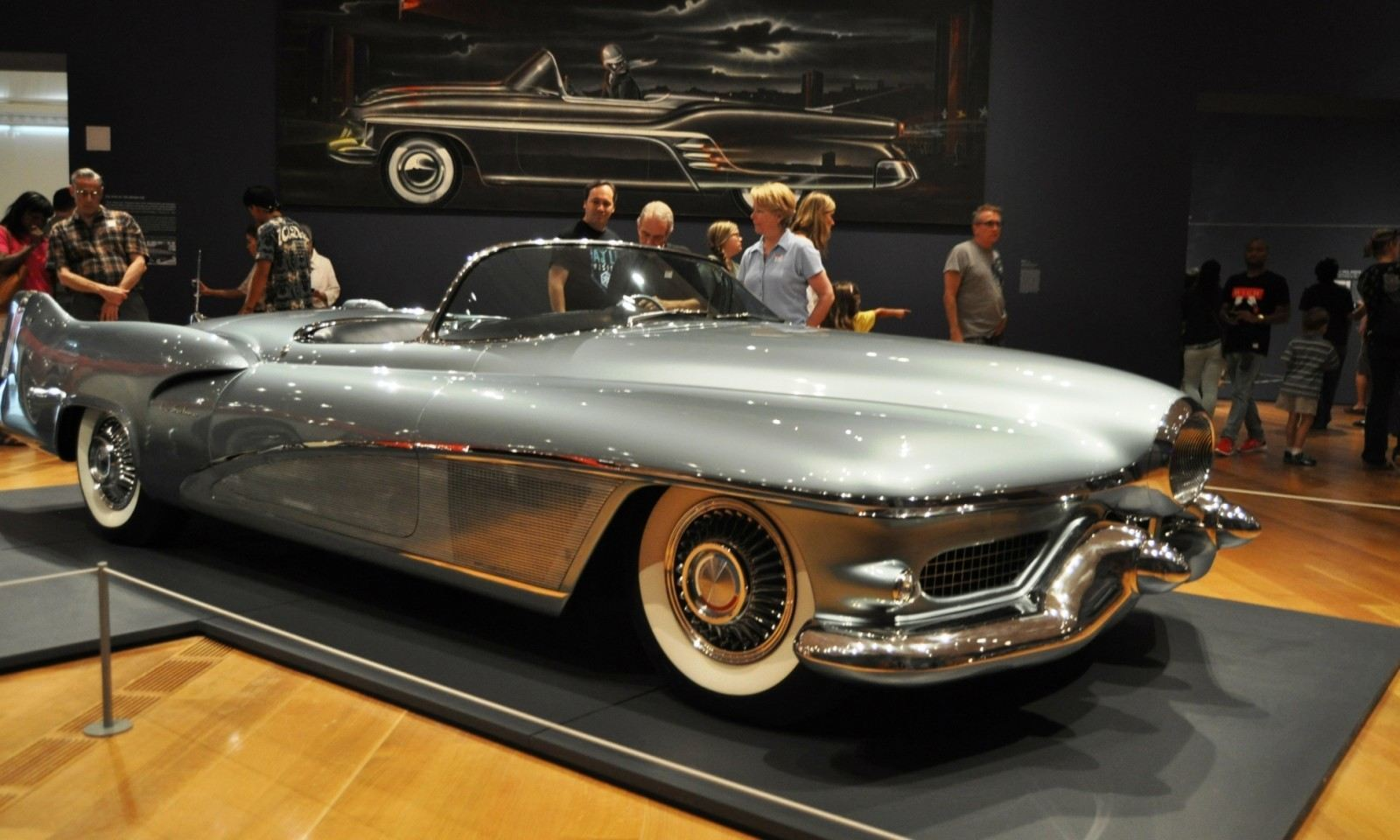 Atlanta Dream Cars - 1951 General Motors LeSabre XP-8 Struck Gold With Yank Tank Ethos of 1950s 12