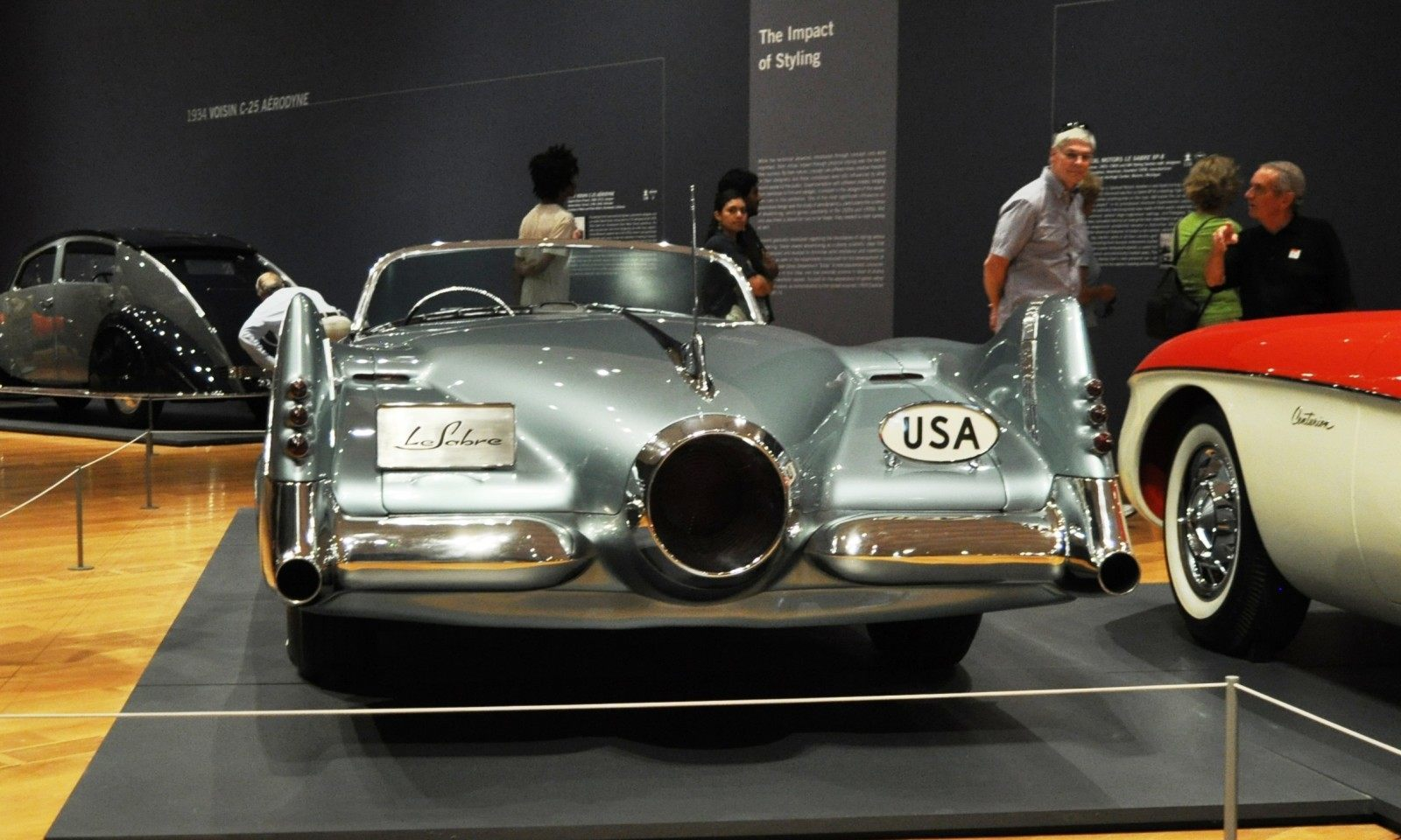 Atlanta Dream Cars - 1951 General Motors LeSabre XP-8 Struck Gold With Yank Tank Ethos of 1950s 14